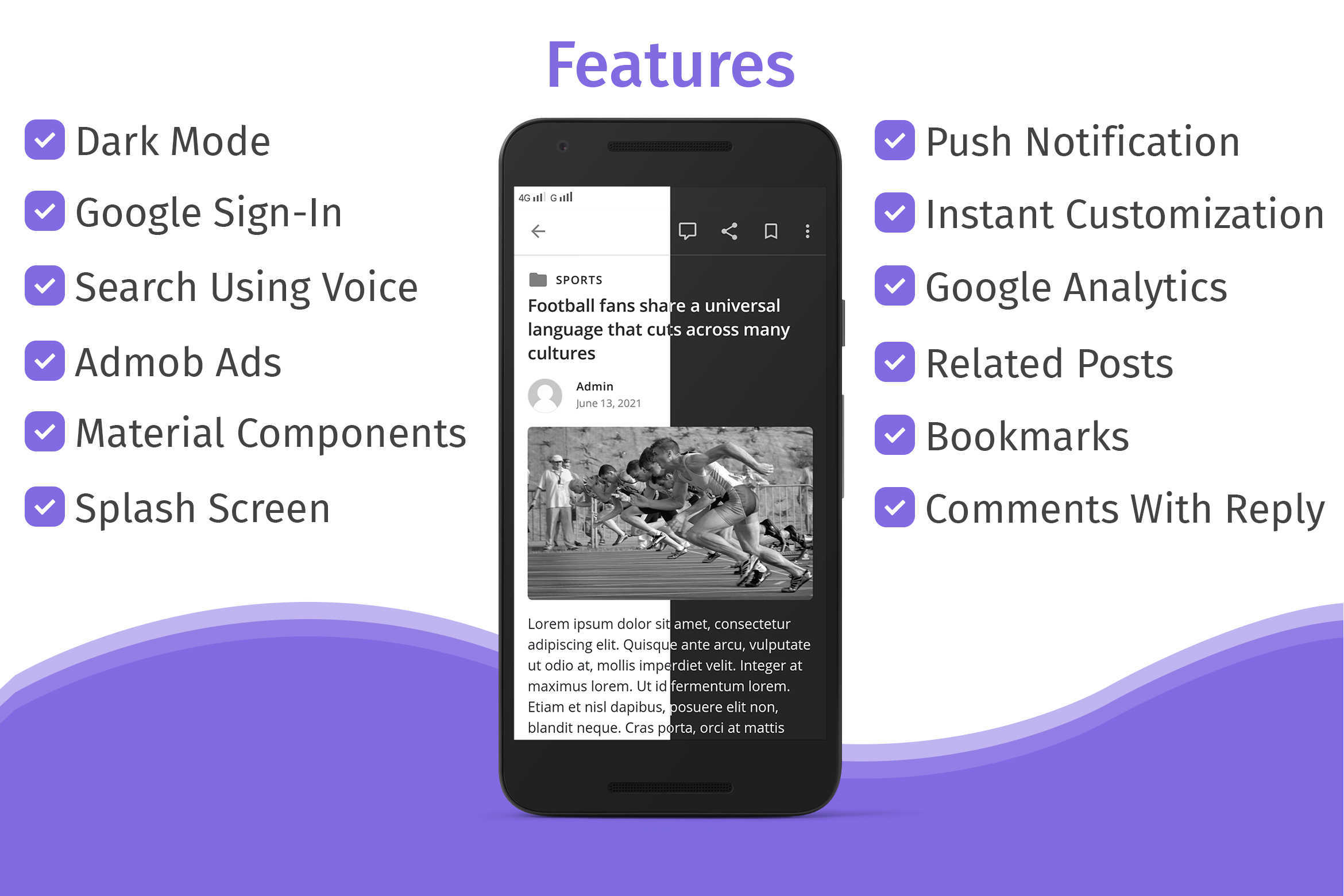 WPInAndroid - Make An Android App For Your WordPress Website - 3